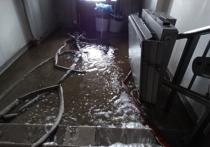 Пожар в Тверской областной детской больнице тушили больше десяти часов